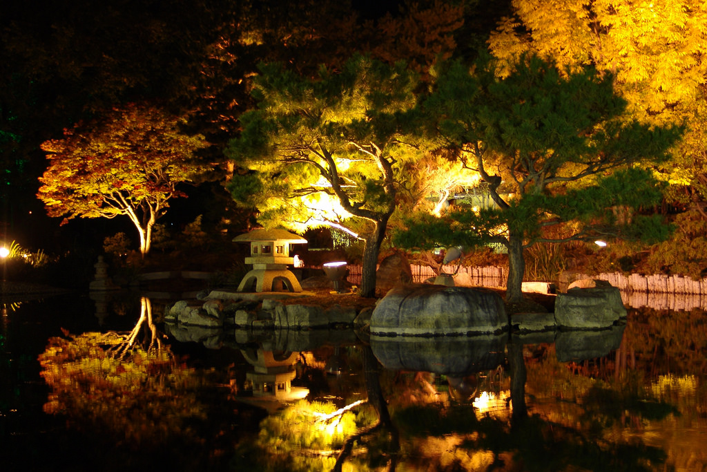 japanese garden lighting. Solar Garden Lights Japanese Lighting A